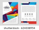 abstract vector layout...   Shutterstock .eps vector #624338954