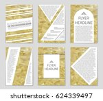 abstract vector layout... | Shutterstock .eps vector #624339497