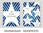 abstract vector layout... | Shutterstock .eps vector #624343151