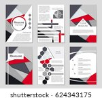 abstract vector layout... | Shutterstock .eps vector #624343175