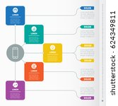 business presentation concept... | Shutterstock .eps vector #624349811