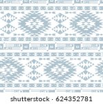 vector seamless decorative... | Shutterstock .eps vector #624352781