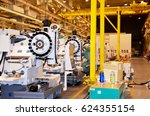 machine tool assembly plant | Shutterstock . vector #624355154