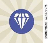 diamond icon. sign design....