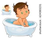 vector illustration of small... | Shutterstock .eps vector #624383231