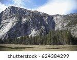 Rock Face In Yosemite National...