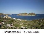 patmos island greece | Shutterstock . vector #624388301
