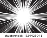 background of radial lines for... | Shutterstock .eps vector #624429041