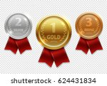 champion gold  silver and... | Shutterstock .eps vector #624431834