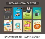mega collection of different...   Shutterstock .eps vector #624466484