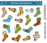find two identical pictures ... | Shutterstock .eps vector #624498305