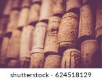 blank wine corks background   Shutterstock . vector #624518129