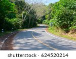 the road to the jungle | Shutterstock . vector #624520214