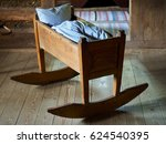 wooden old crib   Shutterstock . vector #624540395