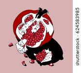 vector illustration of red...   Shutterstock .eps vector #624583985