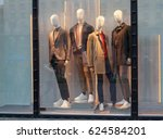 Men's Mannequins In The Window...