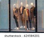 Men's Mannequins In The Window...