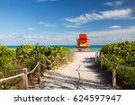 Way To Ocean Lifeguard Tower On ...