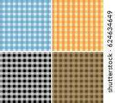 seamless pattern tablecloths... | Shutterstock .eps vector #624634649
