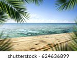 summer background of free space  | Shutterstock . vector #624636899