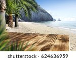 summer background of free space  | Shutterstock . vector #624636959