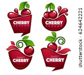 vector collection of fresh...   Shutterstock .eps vector #624642221