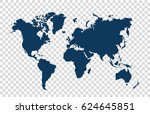 world map | Shutterstock .eps vector #624645851