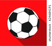 football icon flate. single...