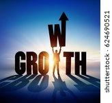 growth. illustration | Shutterstock . vector #624690521