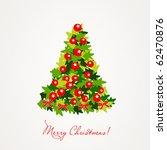 christmas tree | Shutterstock .eps vector #62470876