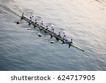 Training On Rowing  Eight.