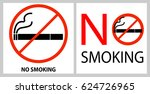 No Smoking Label Isolated On...