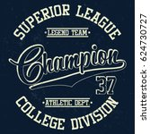college division  superior... | Shutterstock .eps vector #624730727