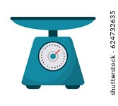 scale food tool healthy | Shutterstock .eps vector #624732635