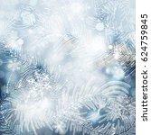 winter frozen background   Shutterstock . vector #624759845