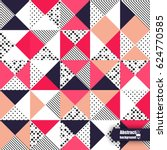abstract background with... | Shutterstock .eps vector #624770585