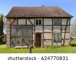 Photo Of A Small Derelict Hous...