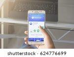 bung kan  thailand   january 08 ... | Shutterstock . vector #624776699