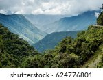 panoramic view of the... | Shutterstock . vector #624776801