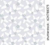 endless christmas pattern.... | Shutterstock .eps vector #624788375