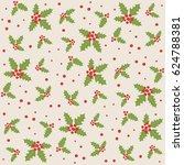 endless christmas pattern....   Shutterstock .eps vector #624788381