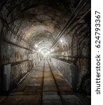 underground military bunker... | Shutterstock . vector #624793367