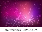 abstract red purple pink...