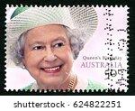 australia   circa 2007  a used... | Shutterstock . vector #624822251