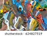 abstract bright background with ...   Shutterstock . vector #624827519