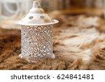 candlestick on the carpet | Shutterstock . vector #624841481