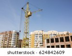 Tower Crane On Construction...