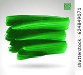 brush stroke and texture.... | Shutterstock .eps vector #624849071