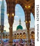 madina saudi arabia july 20... | Shutterstock . vector #624852911