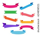 banner icons set | Shutterstock .eps vector #624858521